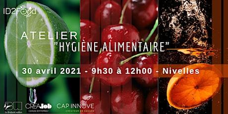 Atelier - L'hygiène alimentaire tickets