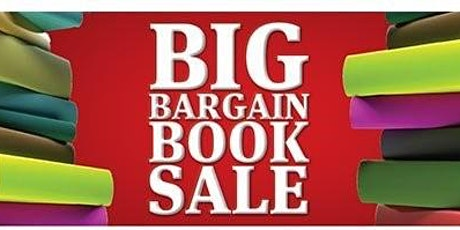 Monthly Big Bargain Book Sale tickets