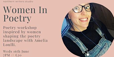 Women In Poetry tickets