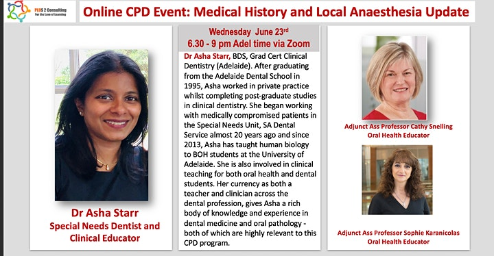 Medical History and Local Anaesthesia Update image