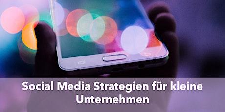 Social Media - Instagram Strategien für kleine Unternehmen tickets