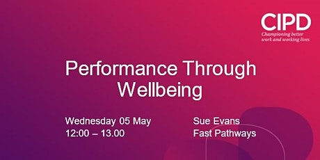 Performance Through Wellbeing tickets
