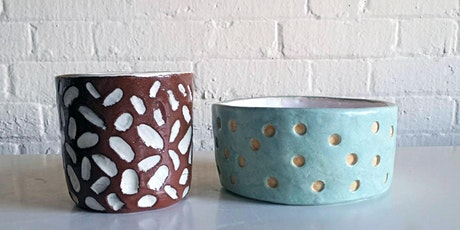 Plant pot & vases workshop- Half day - £75/p. tickets