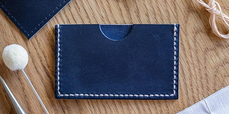Stitch Your Own Leather Card Holder tickets