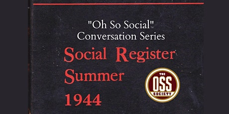 """Oh So Social"" Conversation: Capt. John Billings and Gen. Norton Schwartz tickets"
