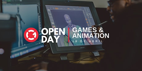 Open Day | Games & Animation tickets