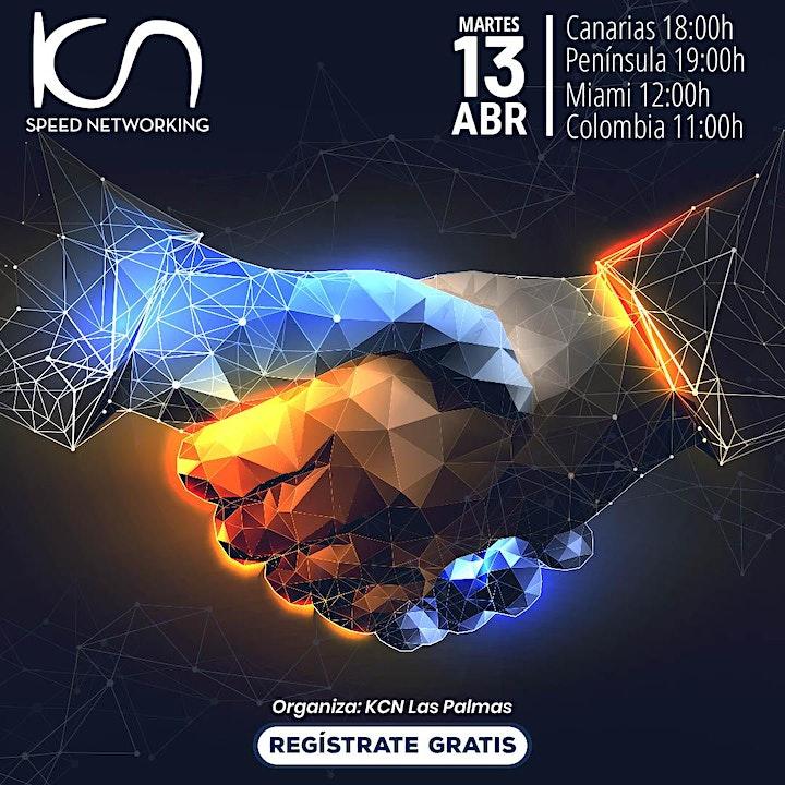 Imagen de KCN Las Palmas Speed Networking Online 13Abr