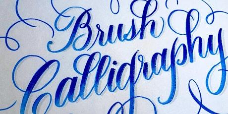 Intermediate Brush Calligraphy tickets
