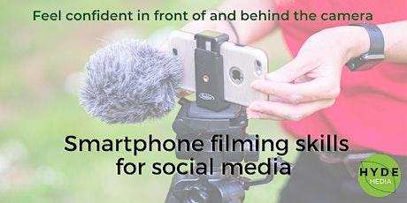 Smartphone Filming Skills for Social Media tickets