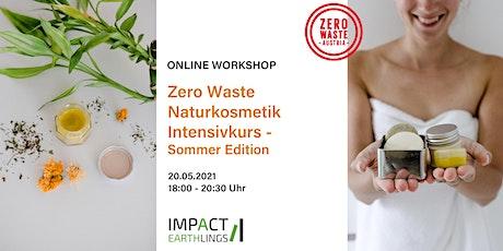 ONLINE Workshop Zero Waste Naturkosmetik Intensivkurs - Summer-Edition Tickets