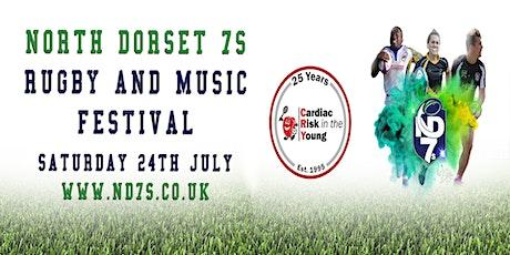 North Dorset 7s 2021 tickets