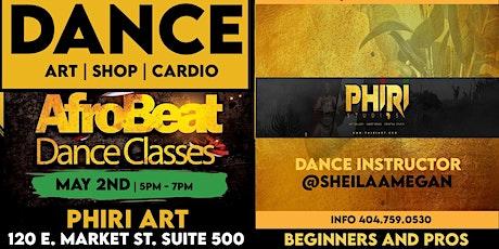 AFROBEATS DANCE WORKSHOP  @phiri tickets
