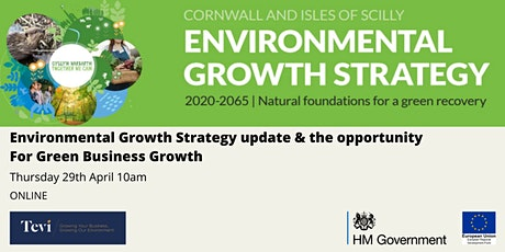 CIoS Environmental Growth Strategy Update & Green Business Growth tickets
