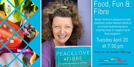 Food, Fun and Fibre: An online Cooking Demo with Mairlyn Smith tickets