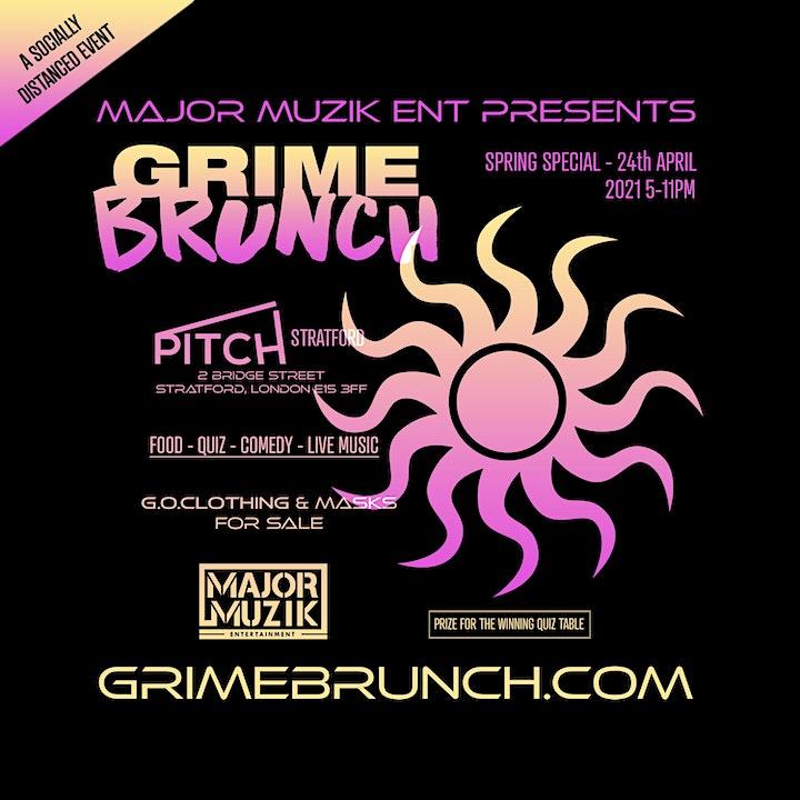 Grime Brunch - Spring Edition image