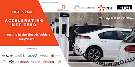 Accelerating Net Zero: Investing in the Electric Vehicle Ecosystem tickets