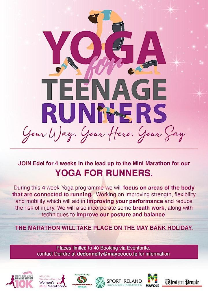 Yoga for Runners -  Teenage Girls image