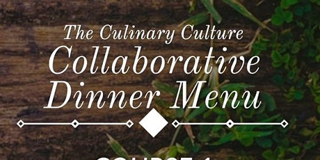 Culinary Culture Series: 4 Course Meal & Mother's Day Brunch tickets