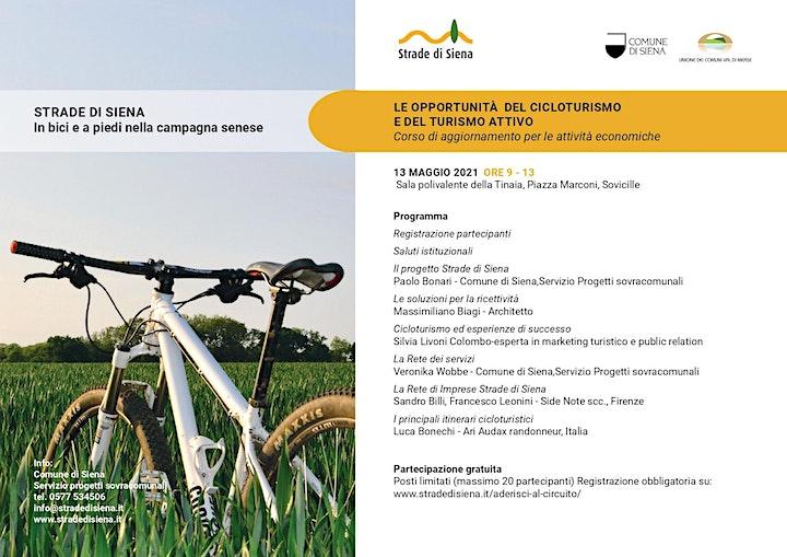 Immagine Strade di Siena-Le opportunità del cicloturismo e del turismo attivo