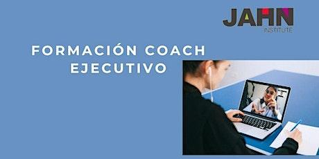 Preinscripción Formación Coach Ejecutivo entradas