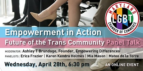 Empowerment in Action: Future of the Trans Community Panel Talk tickets