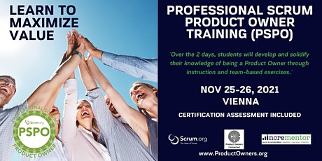 Certified Training | Professional Scrum Product Owner (PSPO) Tickets