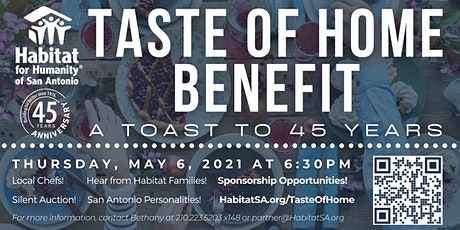 Taste of Home Benefit: A Toast to 45 Years tickets