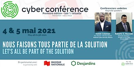 Cyber Conférence 1ere édition billets