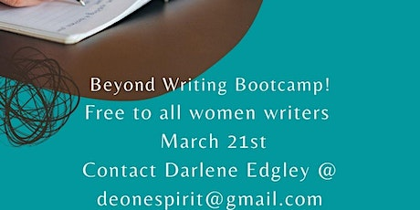 Beyond Writing Bootcamp tickets