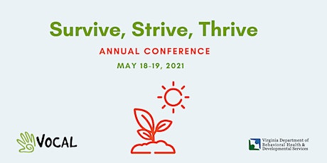Survive, Strive, Thrive: VOCAL Annual Recovery Conference tickets