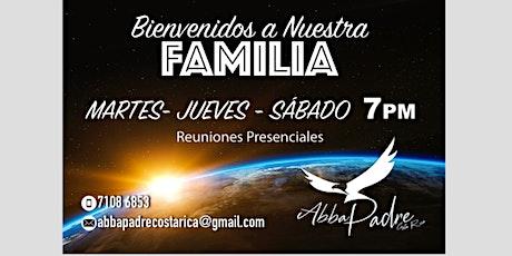 Reuniones Presenciales Abba Padre CR boletos