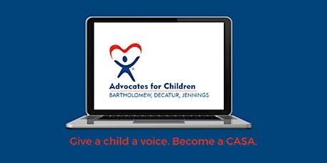 CASA Virtual Information Session tickets