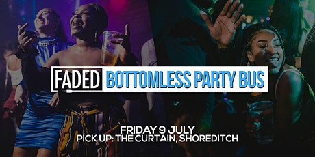 Faded Bottomless Party Bus tickets