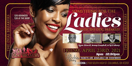 Something For The Ladies tickets