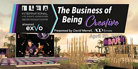 The Business of Being Creative - David Merrell, AOO Events tickets