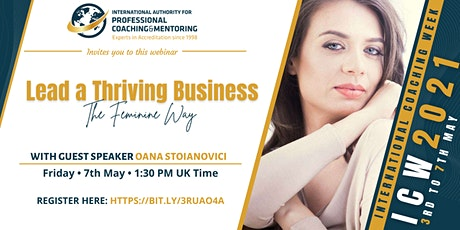 Lead a Thriving Business - The Feminine Way ingressos