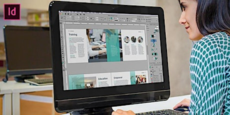 Adobe InDesign 2hr or 3 hr individual introduction or refresher class tickets