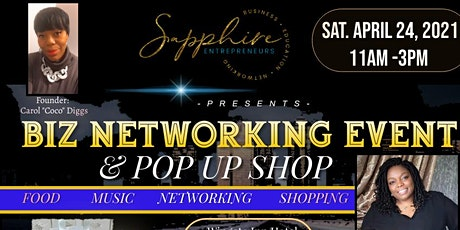 Sapphire Pop Up Shop tickets