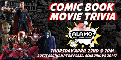 DC Comic Book Trivia at Alamo Drafthouse Loudoun tickets