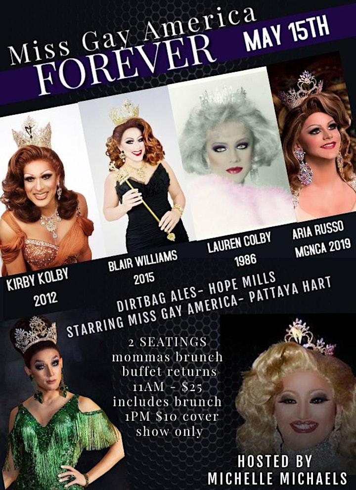 Miss Gay America Forever Brunch & Brews image