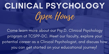 Virtual Clinical Psychology Open House tickets