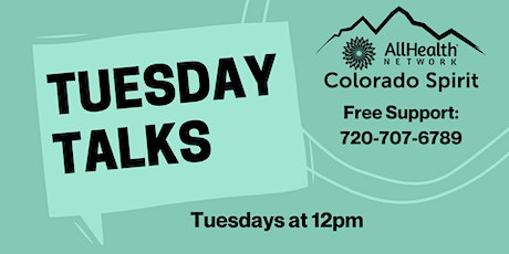 Tuesday Talks tickets
