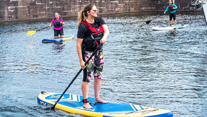 Women's Beginner Stand Up Paddle Boarding Session image