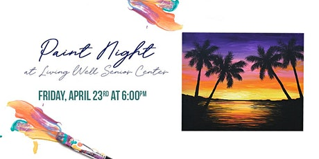 Paint Night at Living Well - Tropical Sunset boletos