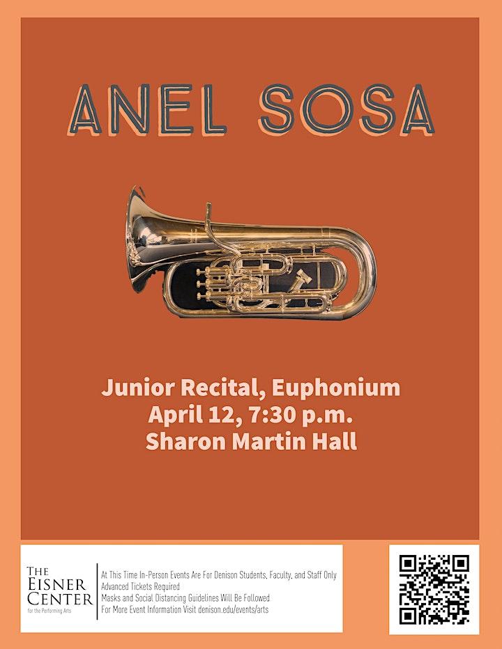 Anel Sosa: Junior recital, euphonium image