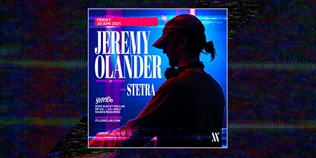 Jeremy Olander at It'll Do Club tickets