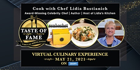 Taste of Fame: Live Virtual Culinary Event with Chef Lidia Bastianich tickets