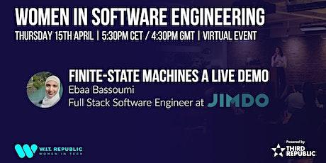 Women in Software Engineering: Finite-State Machines tickets
