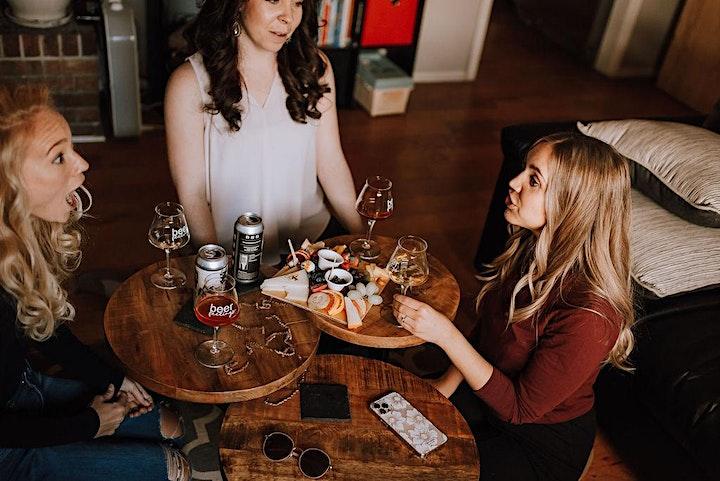 Women Talking Taboo Topics - Beer and Finance image