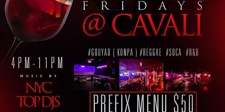 LADIES NIGHT AT CAVALI'S tickets